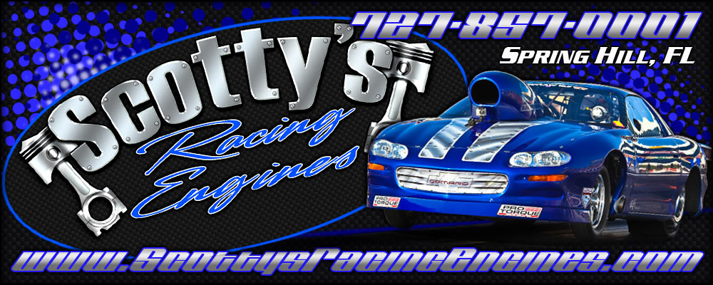 Scotty's Racing Engines | Competition Drag Racing Engines